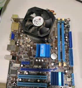 Asus P5G41T-M LE + Intel Core 2 Duo
