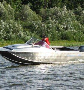 Алюминиевый моторный катер Тактика 470 Hunter