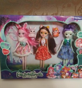 Набор куклы с питоцами
