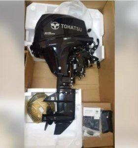 Четырёхтактный лодочный мотор tohatsu MFS9,9ES (То