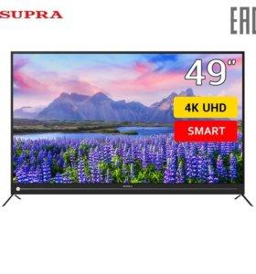 телевизор Supra STV-LC50ST4000U Смарт-ТВ новый