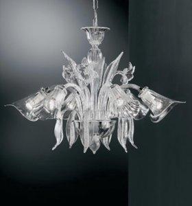 Подвесная люстра Vetri Lamp 302 Cristallo