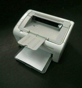 Лазерный принтер с гарантией HP LaserJet P1102