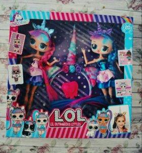 Набор из куколок LOL единороги