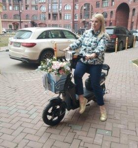 Электрический скутер, мопед