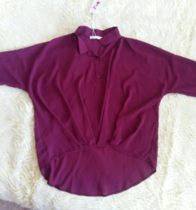 Блуза ассиметричная