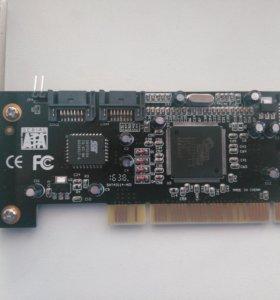 Контроллер PCI - SATA 4 port