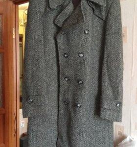 Винтажное мужское пальто