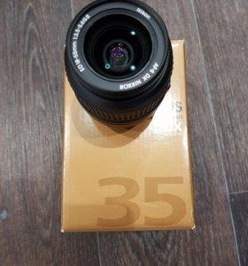 Обьектив Nikon DX 18-55