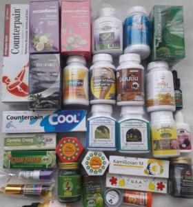 Тайская косметика Бады витамины бальзамы
