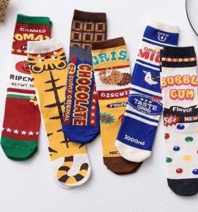 Новые носочки с принтом