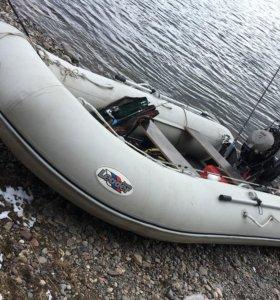Лодка Leader 400 + мотор Parsun 25