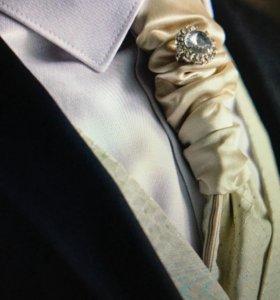Жилетка, галстук, свадебный набор