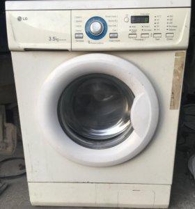 Узкая стиральная машина LG 3.5kg