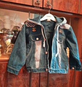 Куртка джинсовая, 3-5 лет