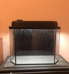 Аквариум панорамный 30 литров