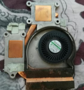 Система охлаждения на ноутбук