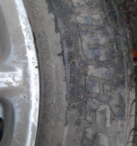 Летняя Резина на дисках бриджстон
