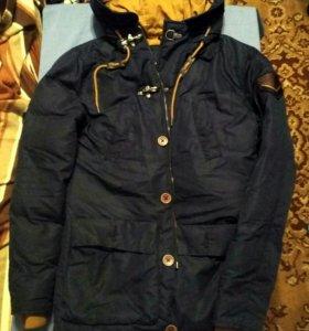 Мужская куртка парка утепленная XS