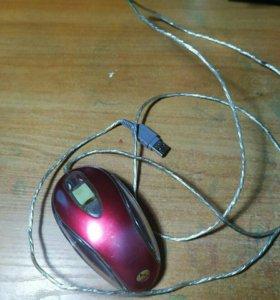 Компьютерная мышка A4 tech и клавиатура Microsoft