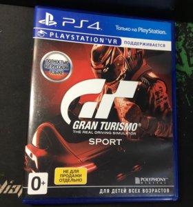 Gran turismo sport на PlayStation 4