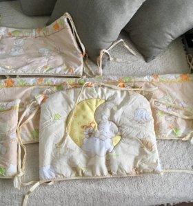 Борты в детскую кроватку