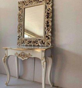 Консольный столик +Зеркало
