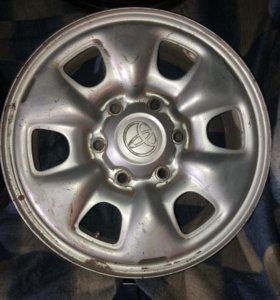 Продам диски от Toyota оригинал
