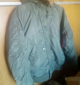Куртка бомбер N-2B Alpha Industries США