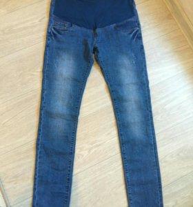 Новые джинсы для беременных + джемпер