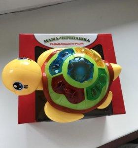 Игрушка развивающая черепаха музыкальная