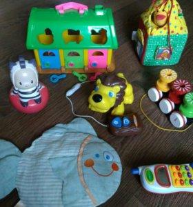 Иггрушки с рождения до 3 лет