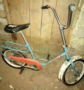 Велосипед детский мишка СССР