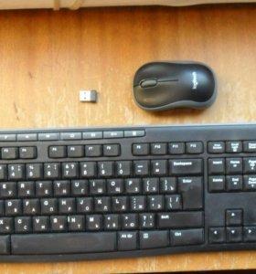 """Беспроводной комплект мышь + клавиатура """"Logitech"""""""