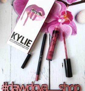 Набор 2в1 Kylie Lip Kit матовая помада + карандаш