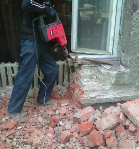 Демонтаж, ремонт квартир
