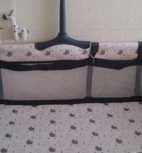 Кровать-манеж детский