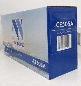 Новые картриджи NV Print CE505A