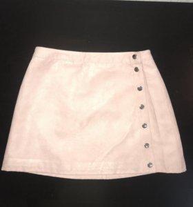 Юбка нежно-розового цвета H&M