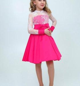 Праздничное платье для девочки, с пышной юбкой