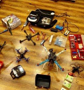 Квадракоптеры для развлечения или хобби.