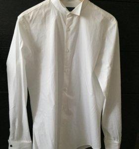 Мужская рубашка Белая zara