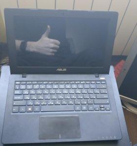 Ноутбук asus X200CA + чехол 11.6 дюймов