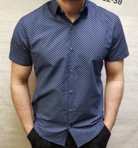 Рубашка Новая 100% хлопок
