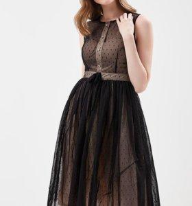 Вечернее коктейльное женское платье