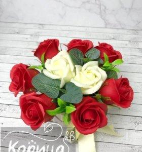 Розы из мыла «Анкона»