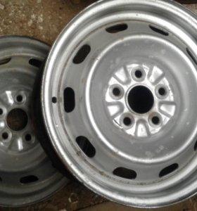 диски штампованные 5/100 R-14 Toyota
