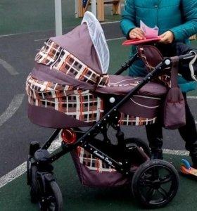 Коляска для новорожденных 2в1