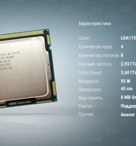 Процессор Intel Xeon x3470 ТОРГА НЕТ Гарантия