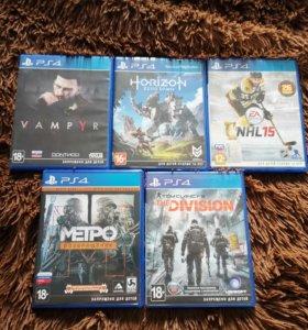 Игры PS4.